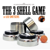 Three Shell Game (DVD and Gimmicks) by Leo Smetsers and Alakazam Magic - Trick