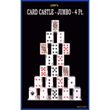 Card castle 4 Feet (JUMBO) by Uday - Trick