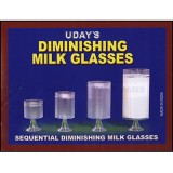 Diminishing Milk Glasses by Uday - Trick