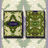 Unicorn Playing cards (Emerald)by Aloy Design Studio USPCC