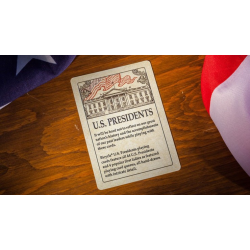 Bicycle U.S. Presidents Playing Cards (Democratic Blue) by U.S. Playing Card Company