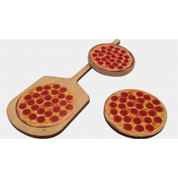 Pizza Paddle (Gimmicks and Online Instructions) by Rob Thompson - Trick