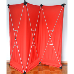 Lightweight Stage Curtain (Red) by Nahuel Oliveria - Trick