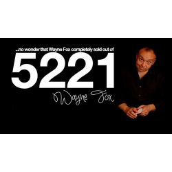 5221 (Gimmicks and Online Instructions) by Wayne Fox - DVD