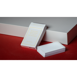 Magic Notebook Deck - Limited Edition (White) by The Bocopo Playing Card Company
