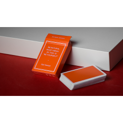 Magic Notebook Deck - Limited Edition (Orange) by The Bocopo Playing Card Company