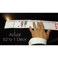 The 52 to 1 Deck (Gimmicks and Online Instructions) by Wayne Fox and David Penn - Trick