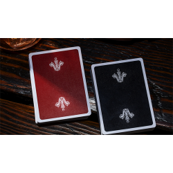 Gamesters Standard Edition Playing Cards (Black) by Whispering Imps