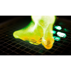 PyroPlastic: Green Flame 4 Sheets 197 mm by 127 mm (Gimmicks and Online Instructions) - Trick