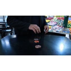 Triple TUC Quarter (D0182) Gimmicks and Online Instructions by Tango - Trick