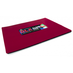 Deluxe Close-Up Pad 16X23 (Red) by Murphy's Magic Supplies - Trick