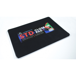 Standard Close-Up Pad 11X16 (Black) by Murphy's Magic Supplies - Trick