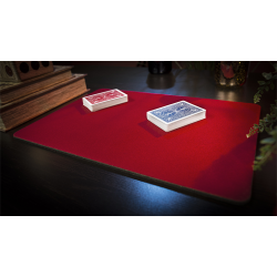 Standard Close-Up Pad 11X16 (Red) by Murphy's Magic Supplies - Trick