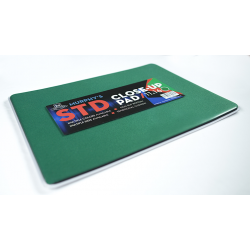 Standard Close-Up Pad 11X16 (Green) by Murphy's Magic Supplies - Trick