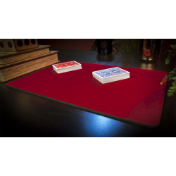 Economy Close-Up Pad 11X16 (Red) by Murphy's Magic Supplies - Trick