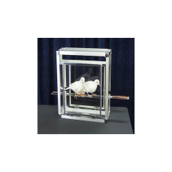 Doves on Sword in Glass Cube by Tora Magic - Trick