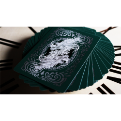Bicycle Dragon Playing Cards (Green) by USPCC